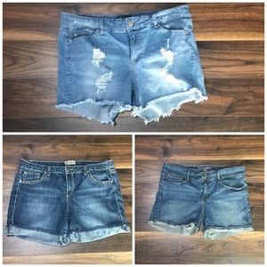 Pants - Bundle of 3 Plus Size Shorts
